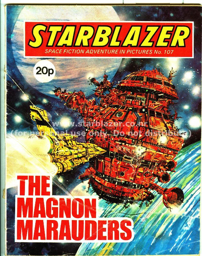 Starblazer issue 107 - Page 1