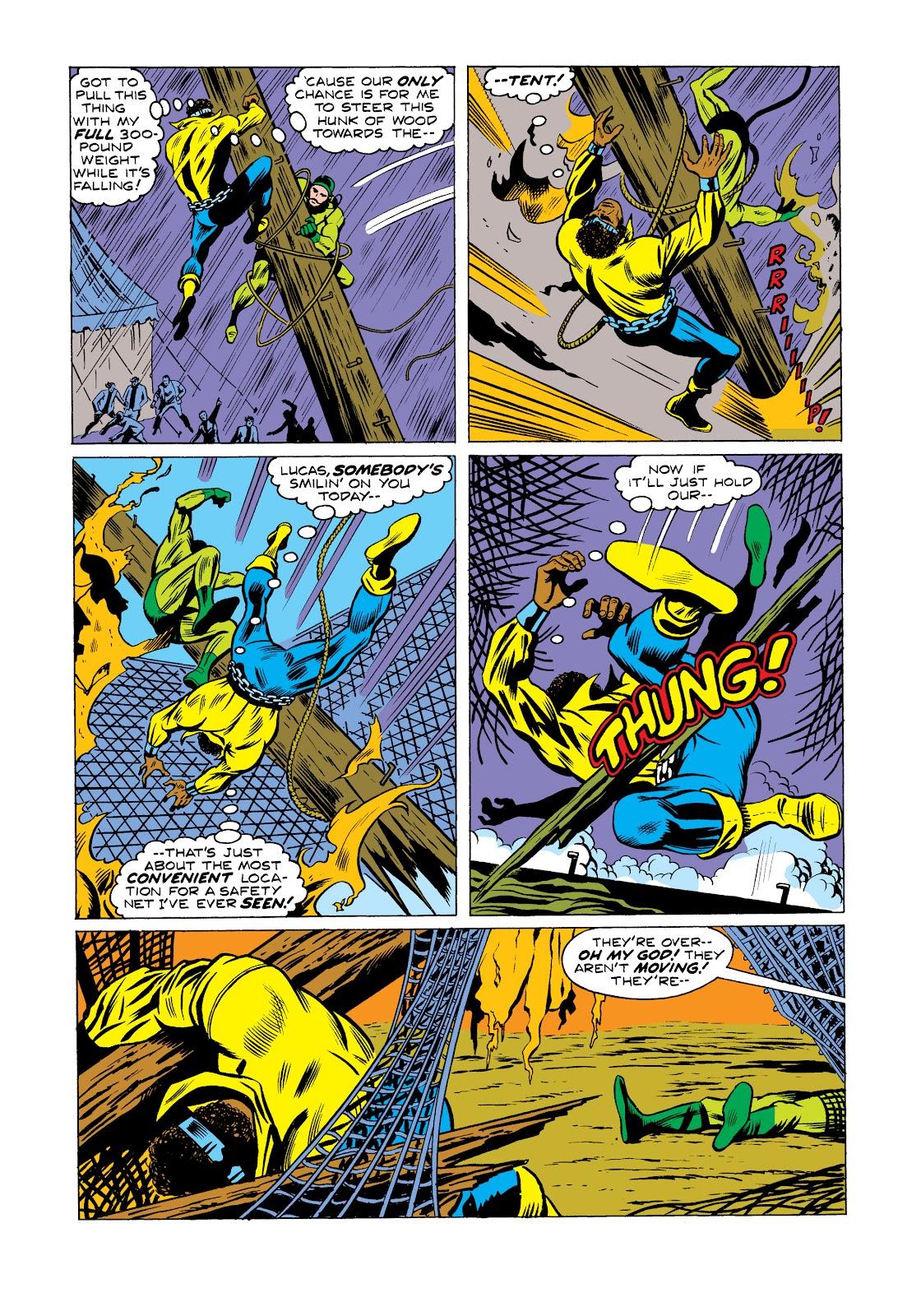 Read online Marvel Masterworks: Luke Cage, Power Man comic -  Issue # TPB 2 (Part 2) - 47