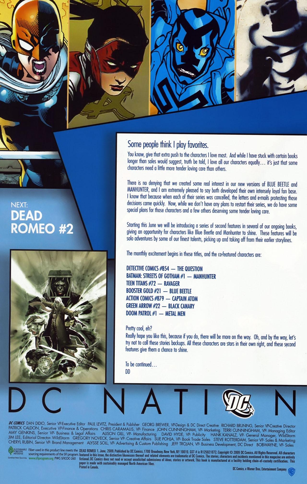 Read online Dead Romeo comic -  Issue #1 - 18