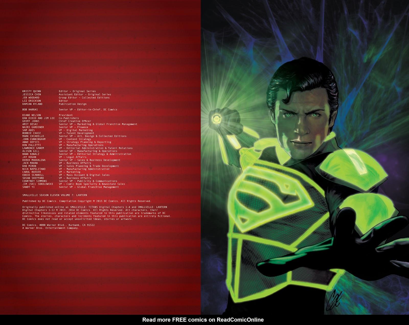 Read online Smallville Season 11 [II] comic -  Issue # TPB 7 - 4