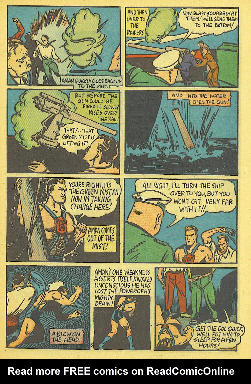 Read online Amazing Man Comics comic -  Issue #19 - 7