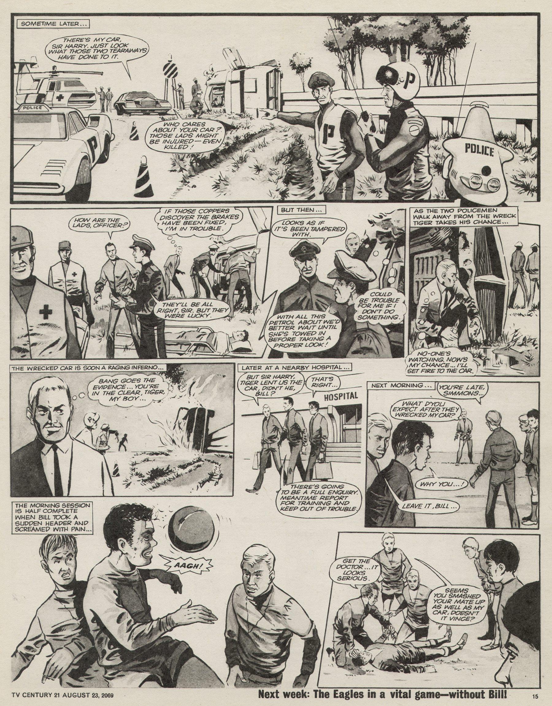 Read online TV Century 21 (TV 21) comic -  Issue #240 - 15