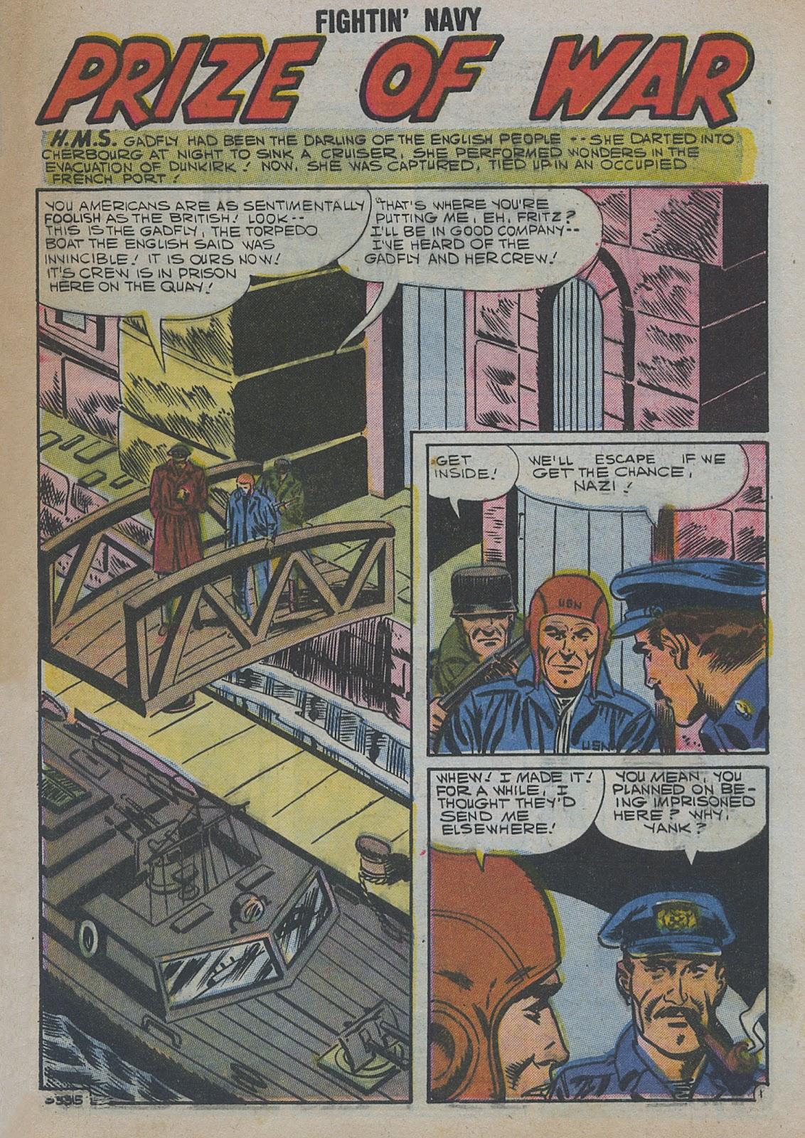Read online Fightin' Navy comic -  Issue #82 - 17