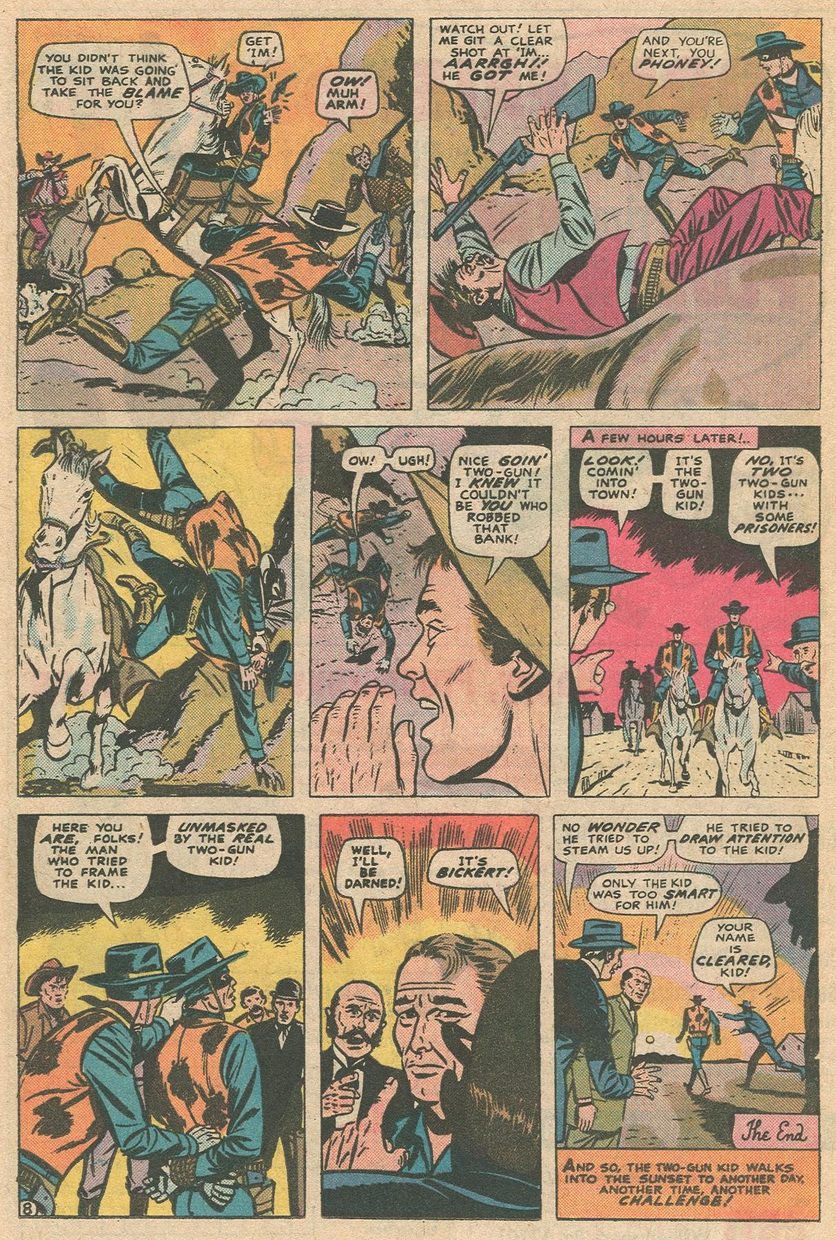 Read online Two-Gun Kid comic -  Issue #124 - 16