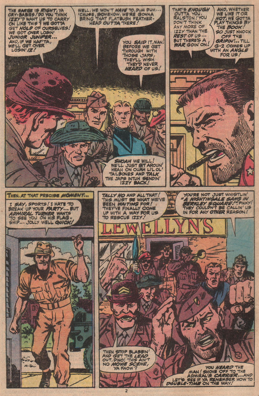 Read online Sgt. Fury comic -  Issue #145 - 4