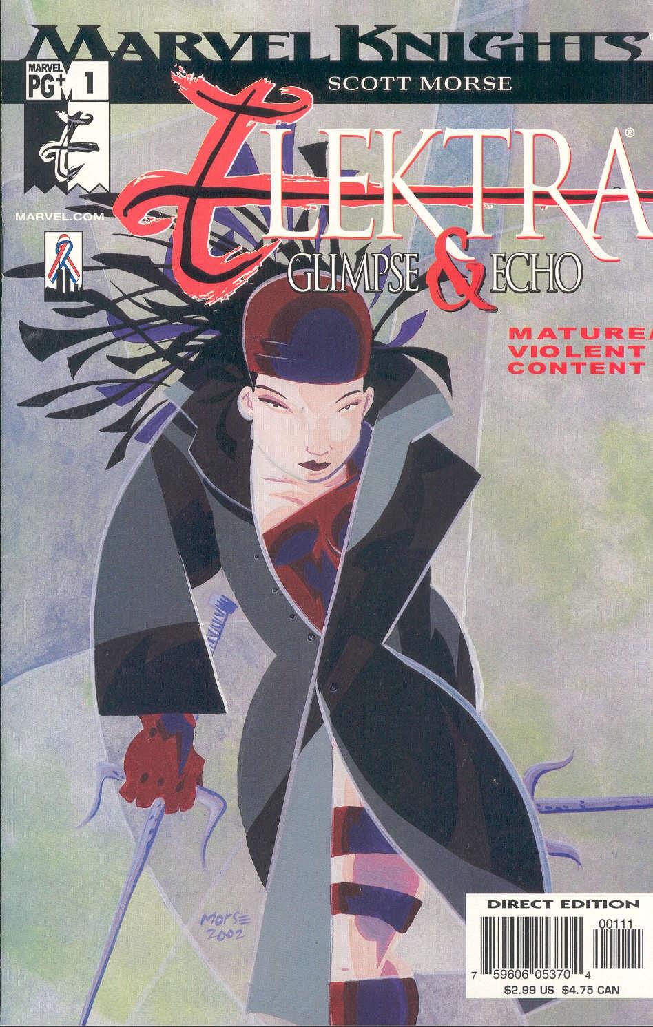 Elektra: Glimpse & Echo 1 Page 1