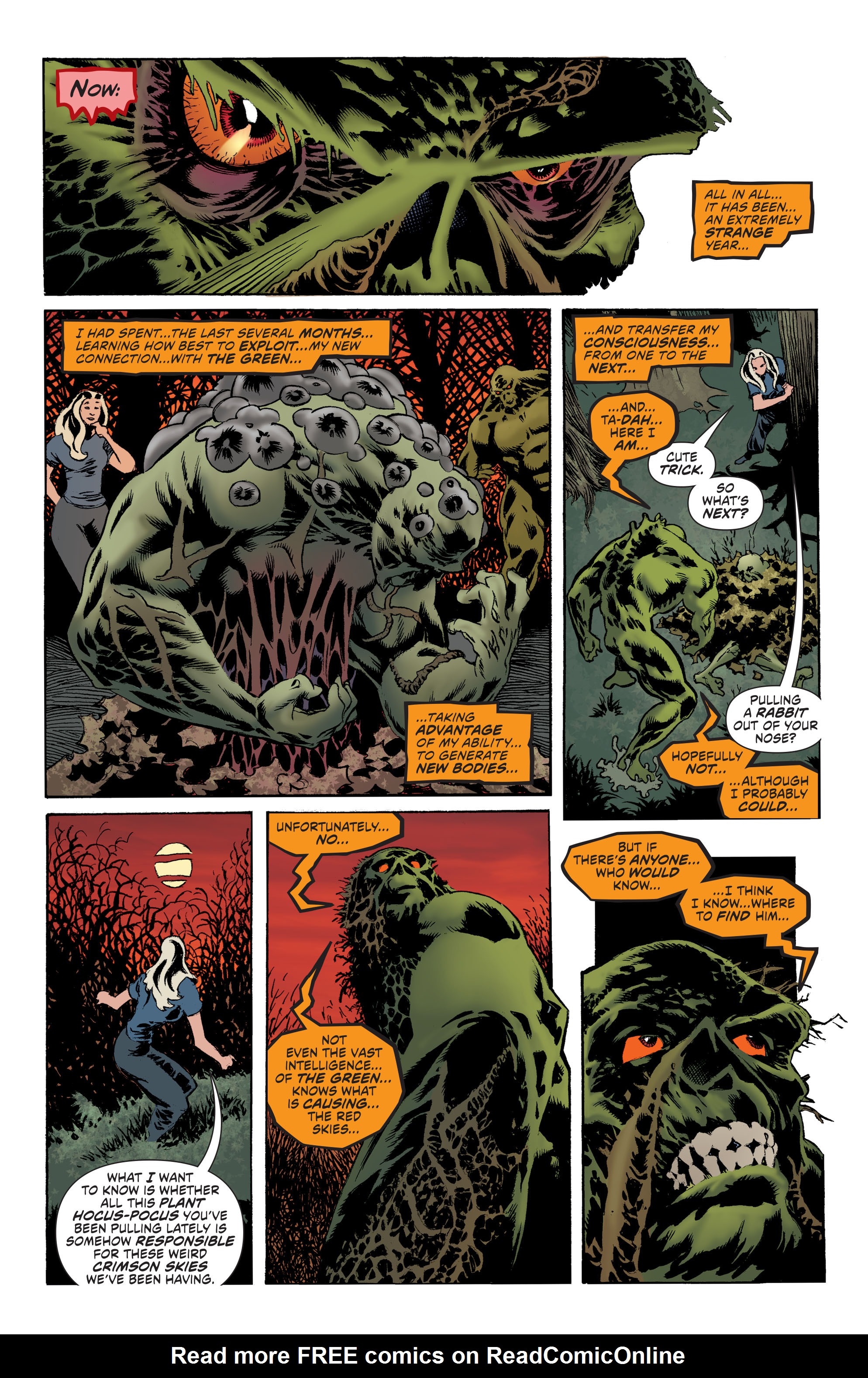 Read online Convergence Swamp Thing comic -  Issue #1 - 8
