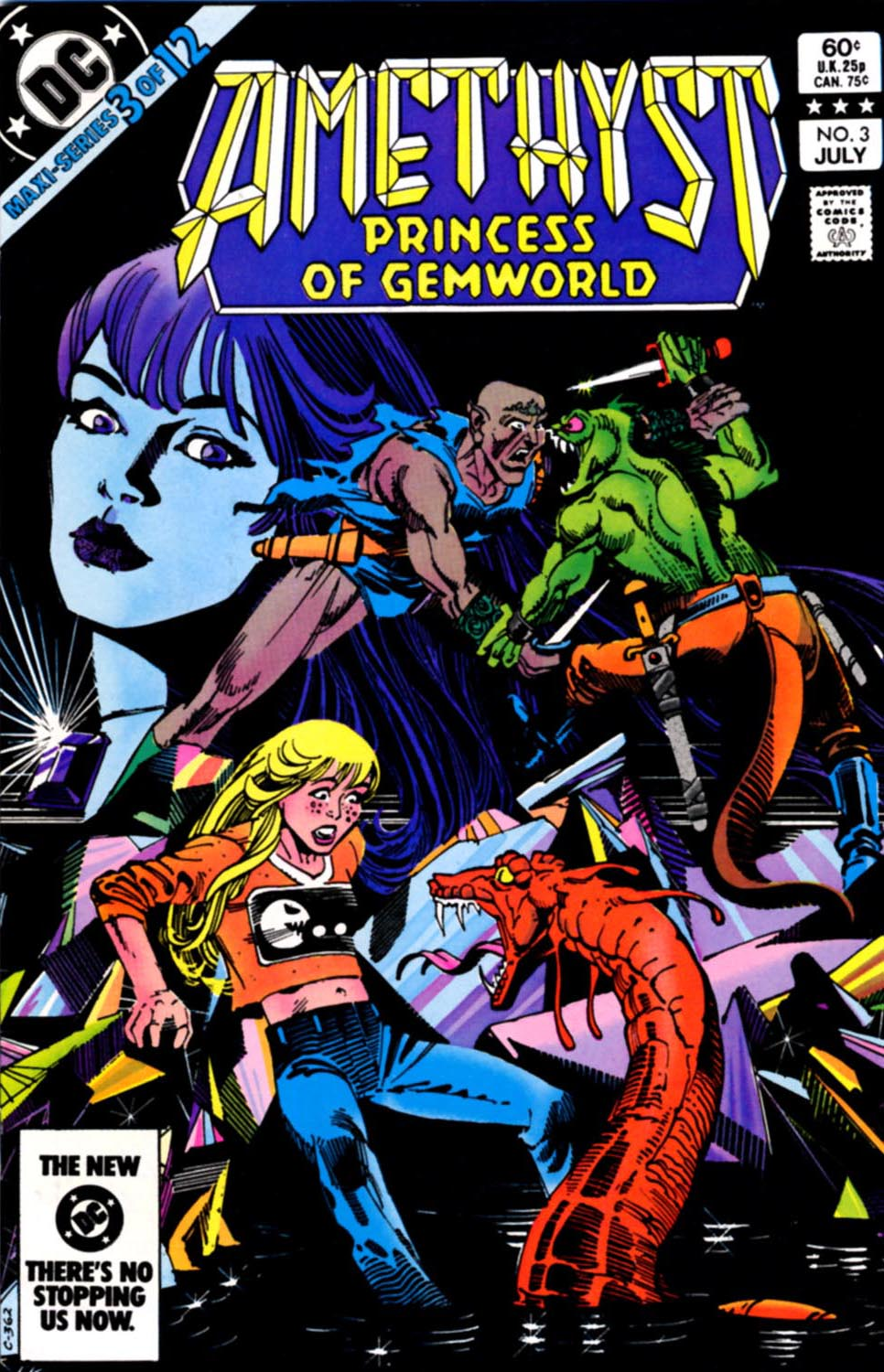 Read online Amethyst, Princess of Gemworld comic -  Issue #3 - 1