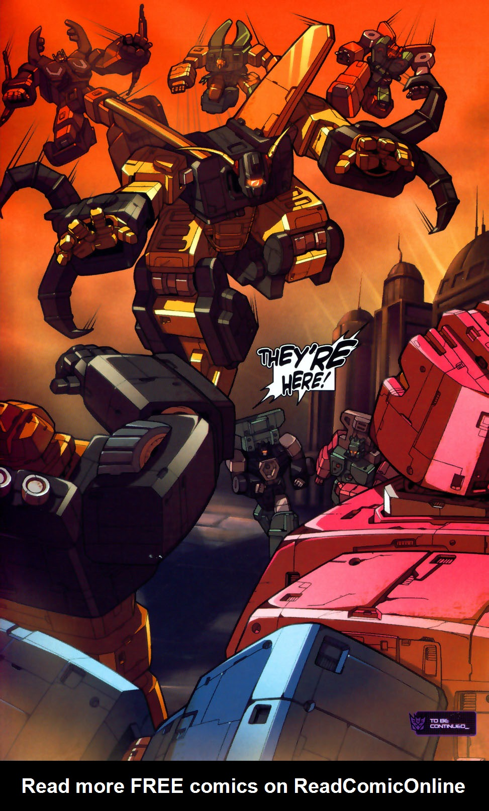 Read online Transformers: Micromasters comic -  Issue #1 - 24