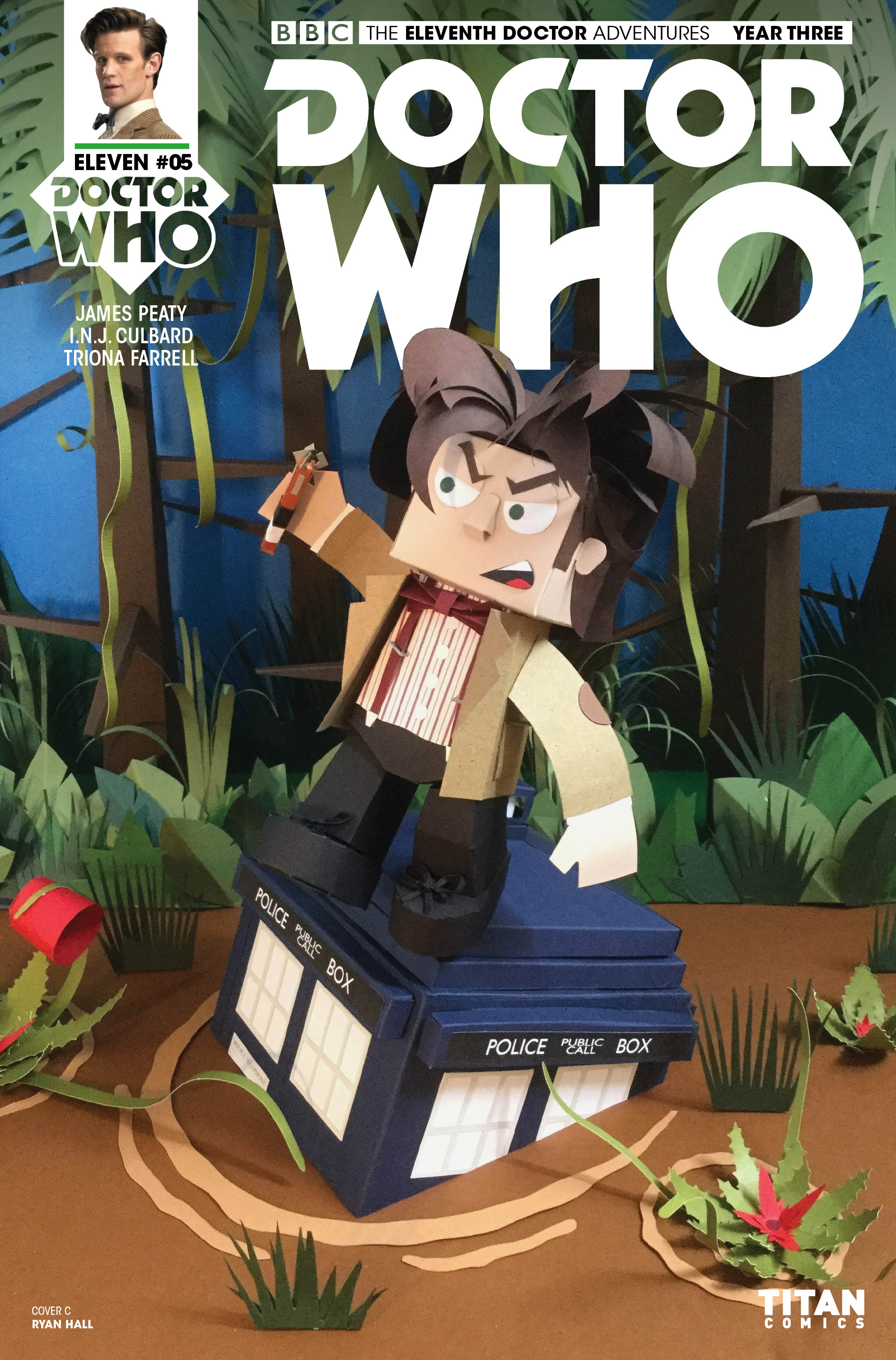 Read online Doctor Who: The Eleventh Doctor Year Three comic -  Issue #5 - 3