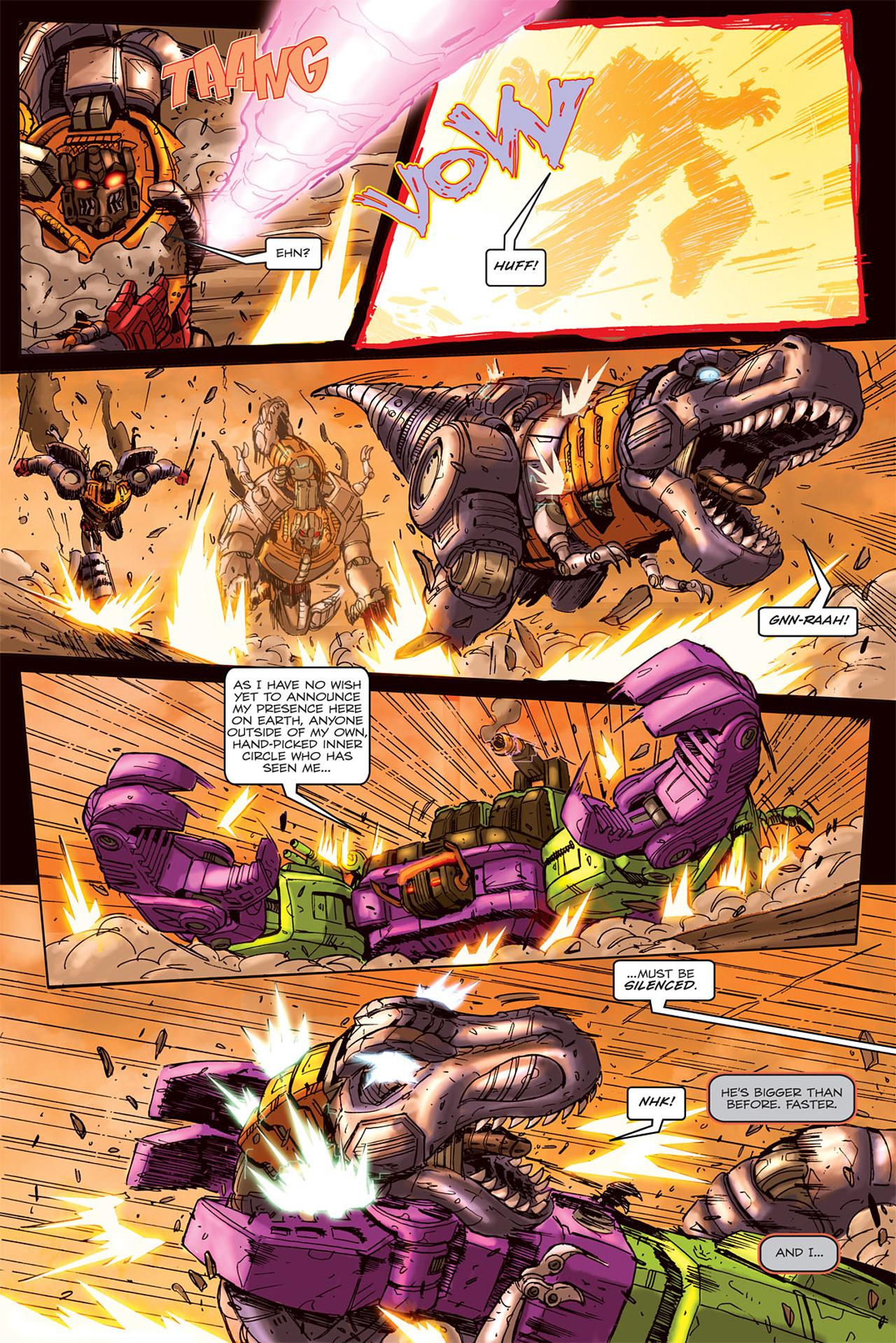 Read online Transformers Spotlight: Grimlock comic -  Issue # Full - 22
