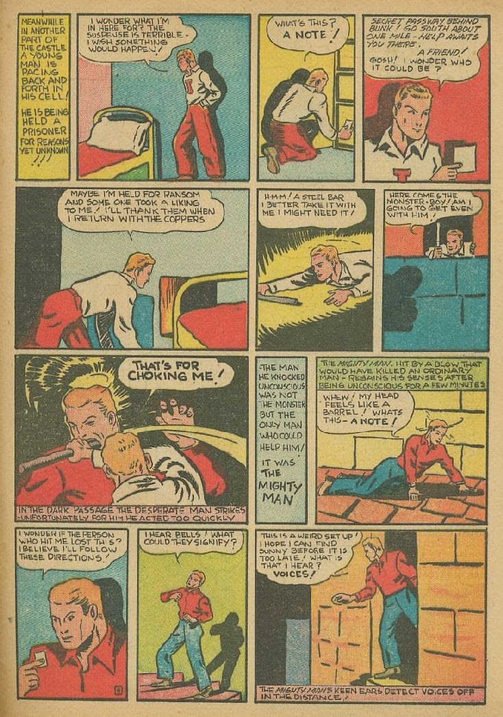 Read online Amazing Man Comics comic -  Issue #9 - 56