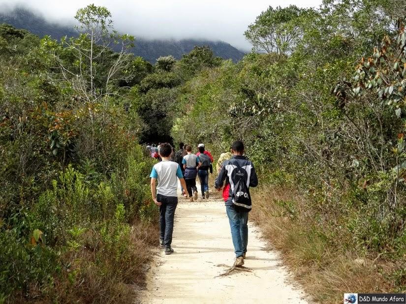 Santuário do Caraça - trilha para a Cascatinha
