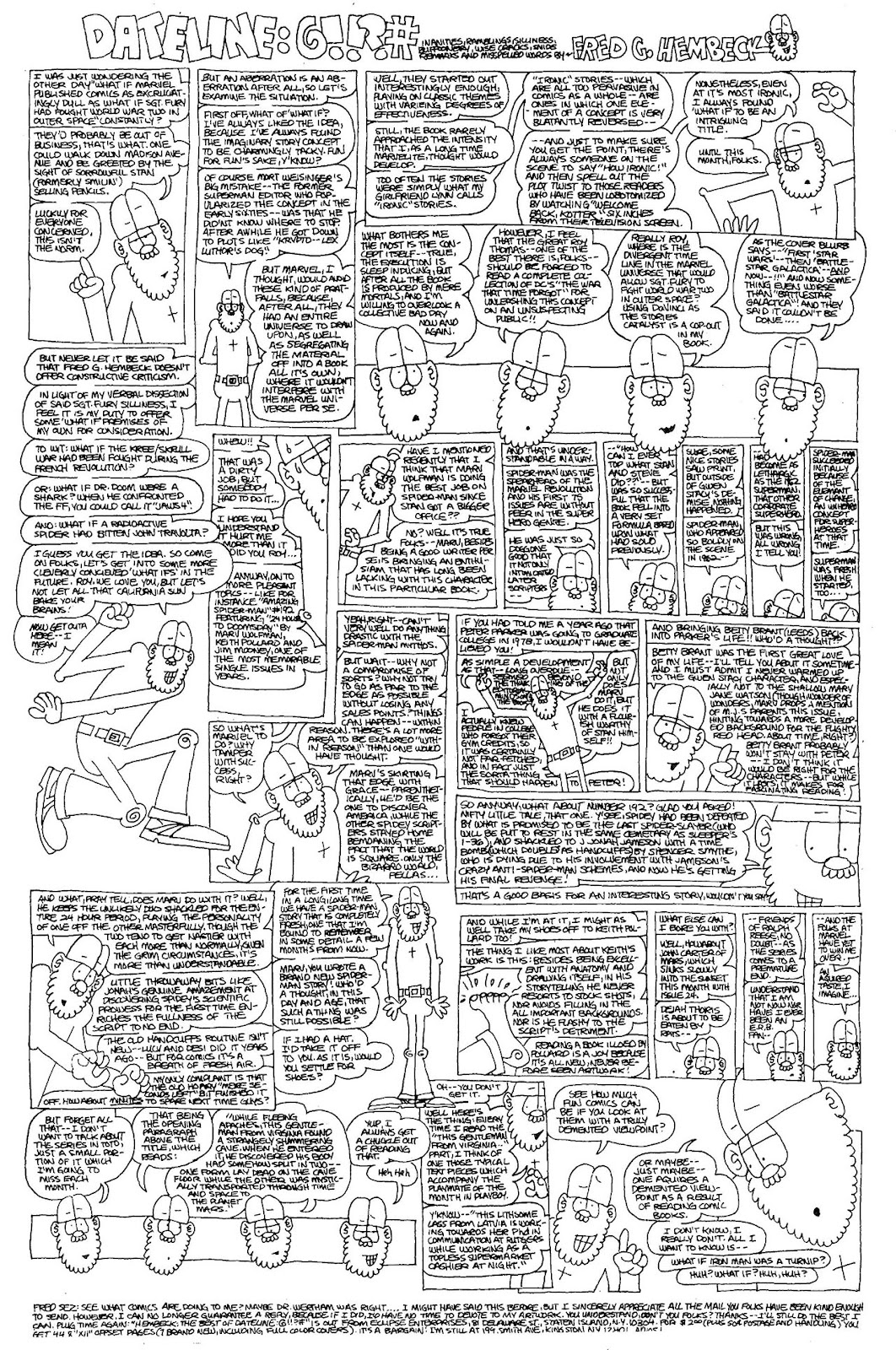 Read online The Nearly Complete Essential Hembeck Archives Omnibus comic -  Issue # TPB (Part 4) - 36
