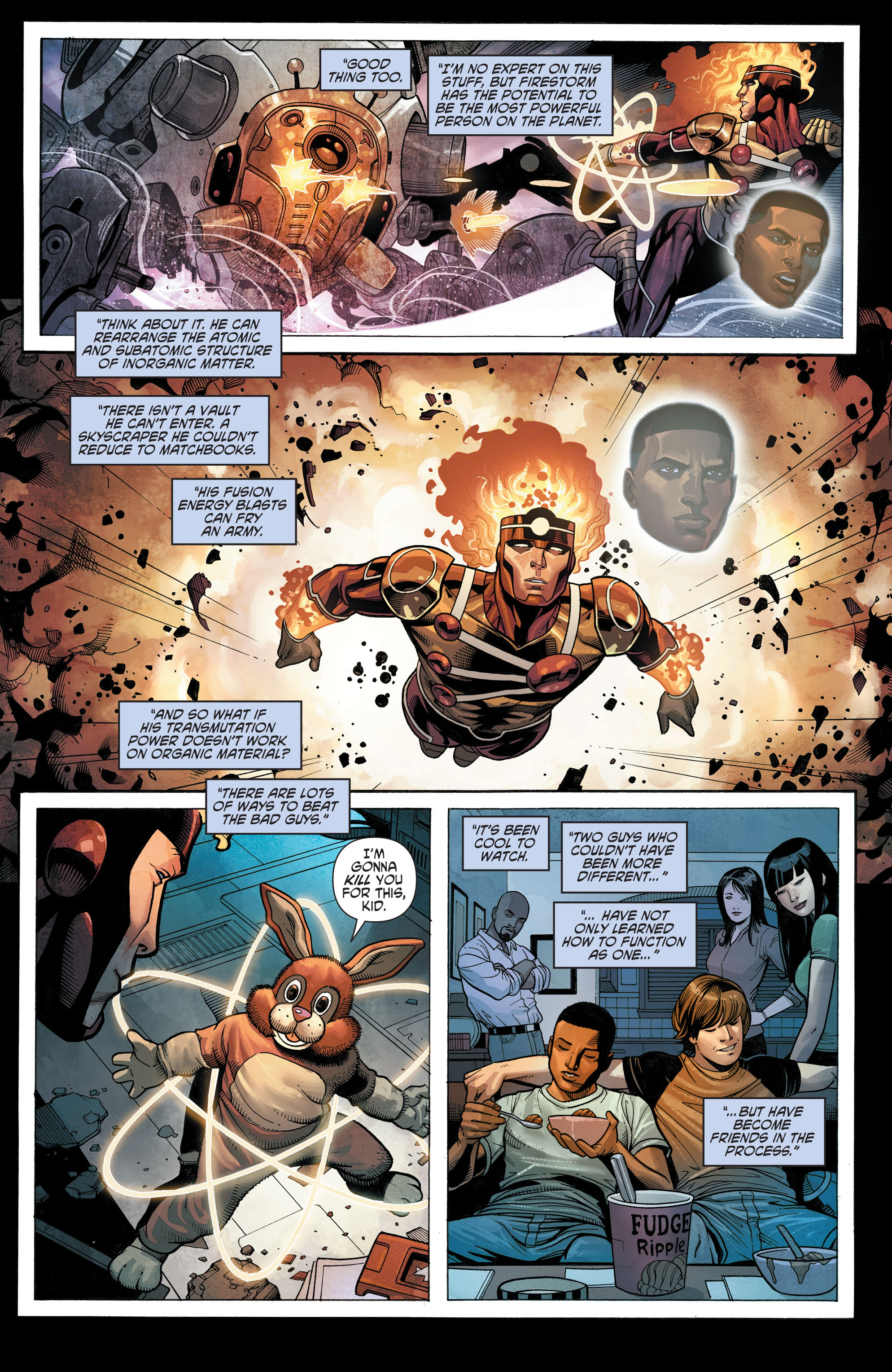 Read online Secret Origins (2014) comic -  Issue #10 - 22