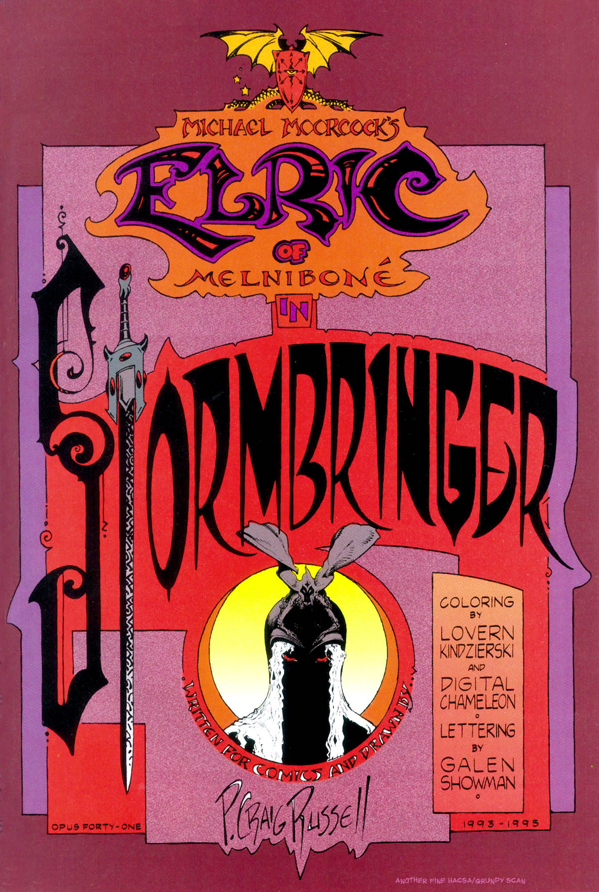 Read online Elric: Stormbringer comic -  Issue #1 - 3
