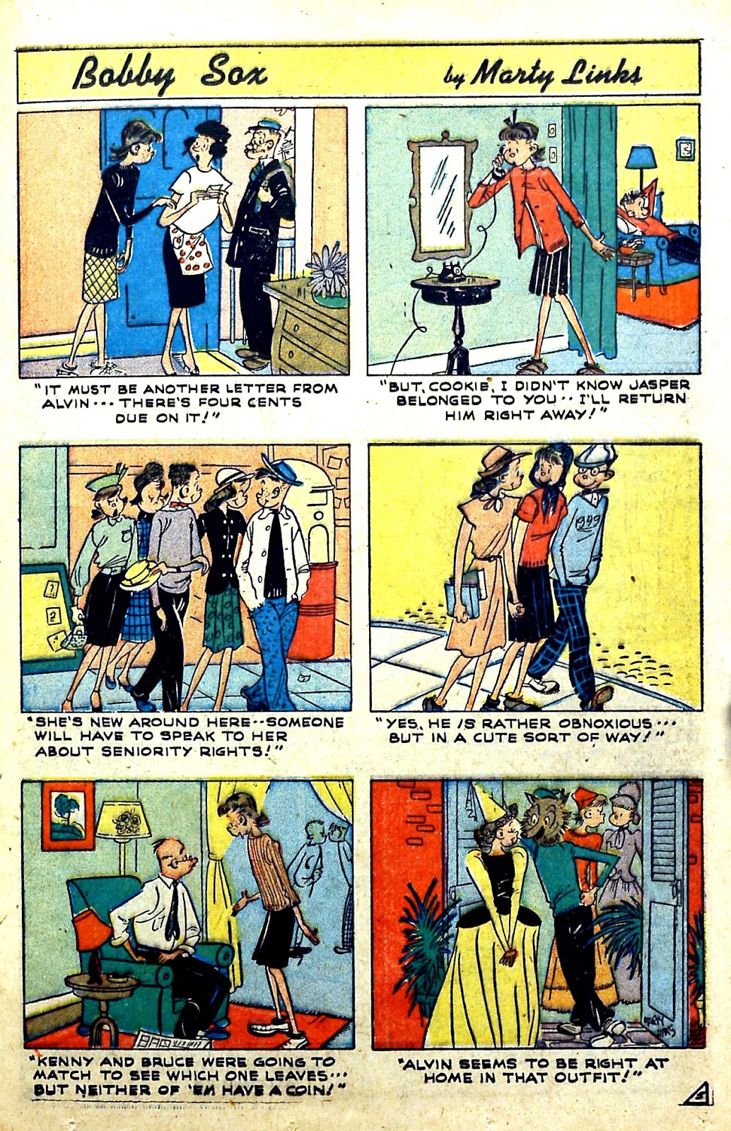Read online Famous Funnies comic -  Issue #185 - 32