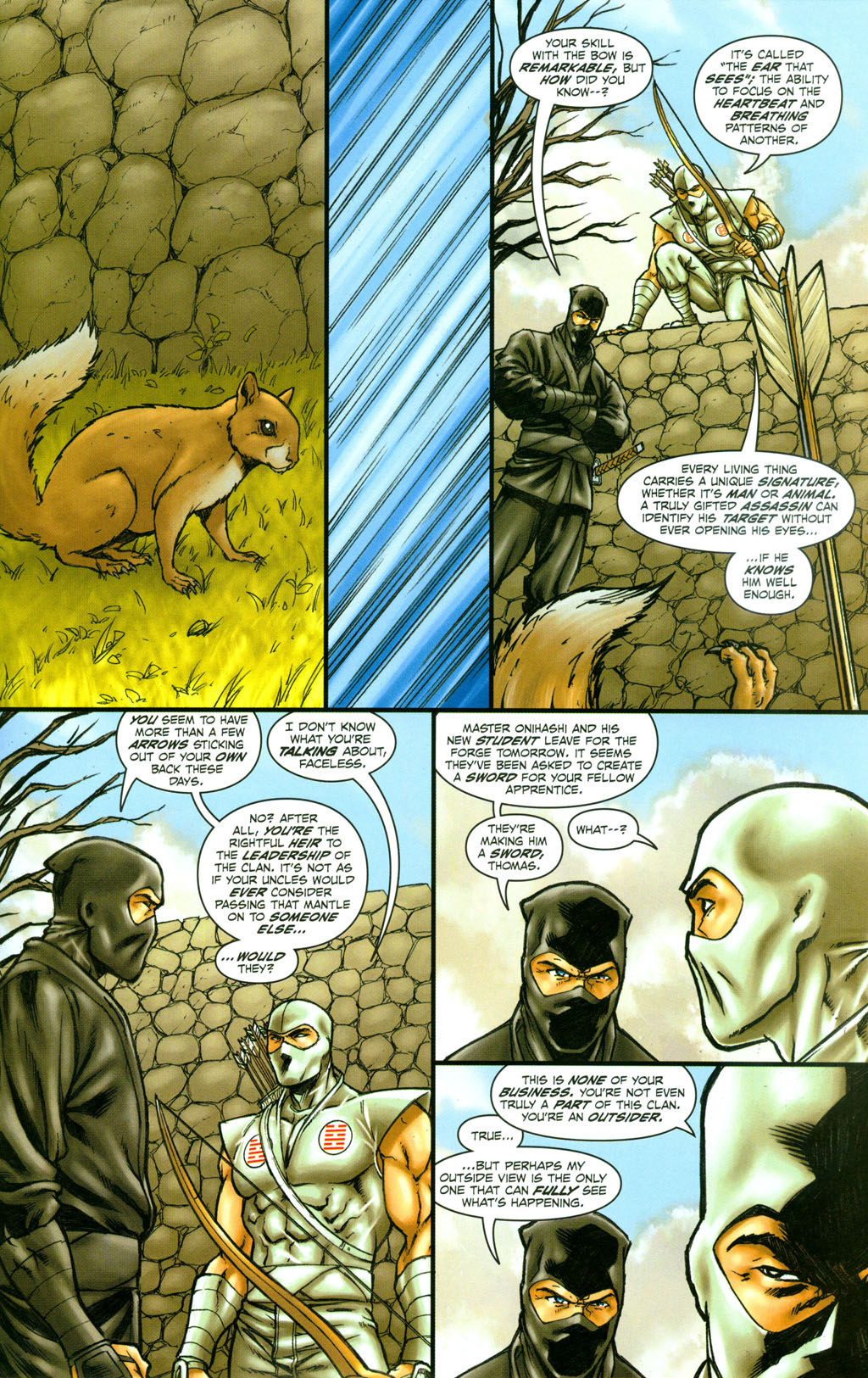 Read online Snake Eyes: Declassified comic -  Issue #4 - 16