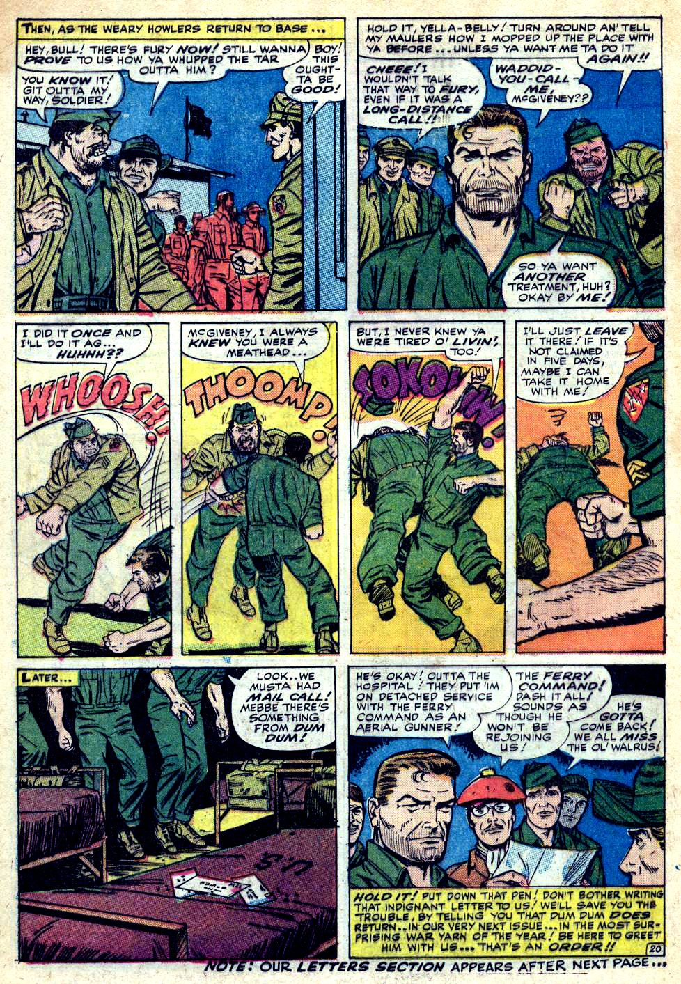 Read online Sgt. Fury comic -  Issue #25 - 28