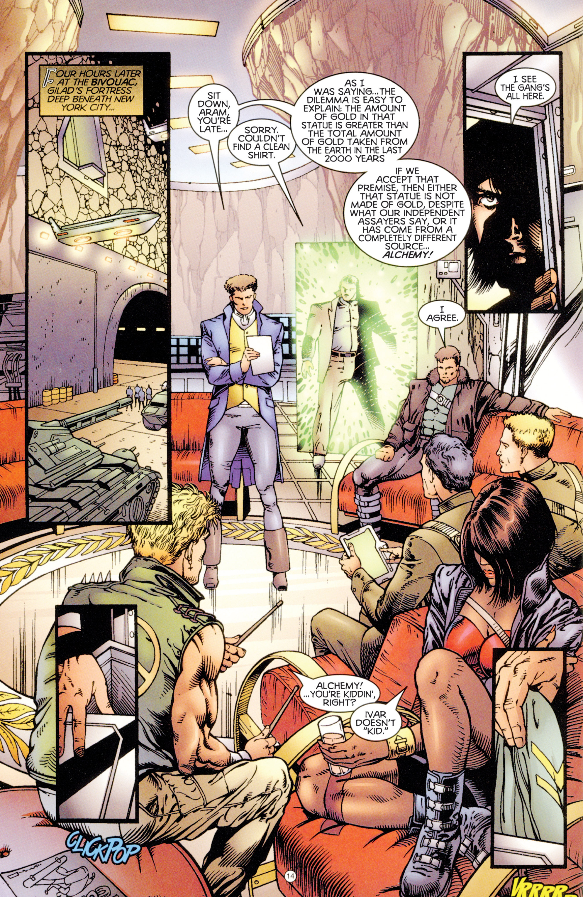 Read online Eternal Warriors comic -  Issue # Issue Digital Alchemy - 13