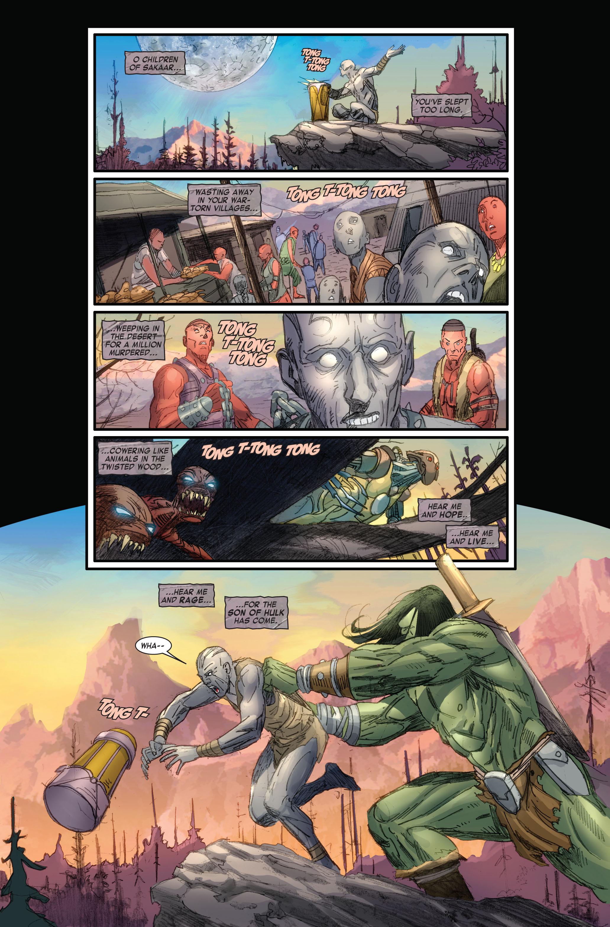 Read online Skaar: Son of Hulk comic -  Issue #4 - 4
