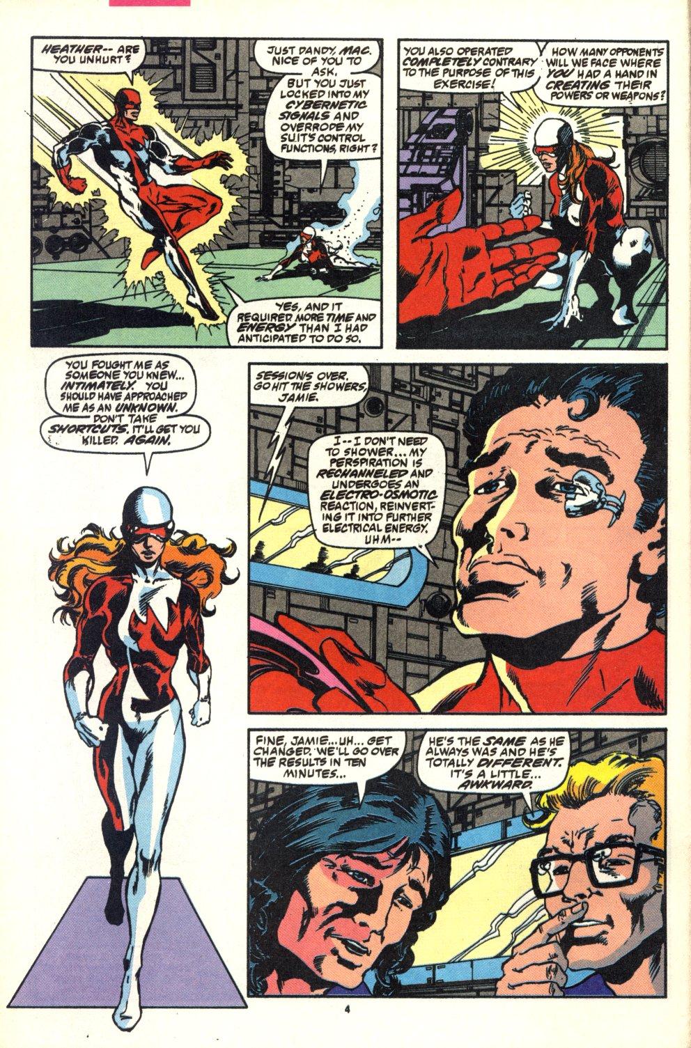 Read online Alpha Flight (1983) comic -  Issue #92 - 5