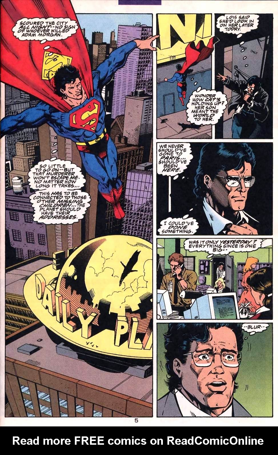 Read online Adventures of Superman (1987) comic -  Issue #507 - 6