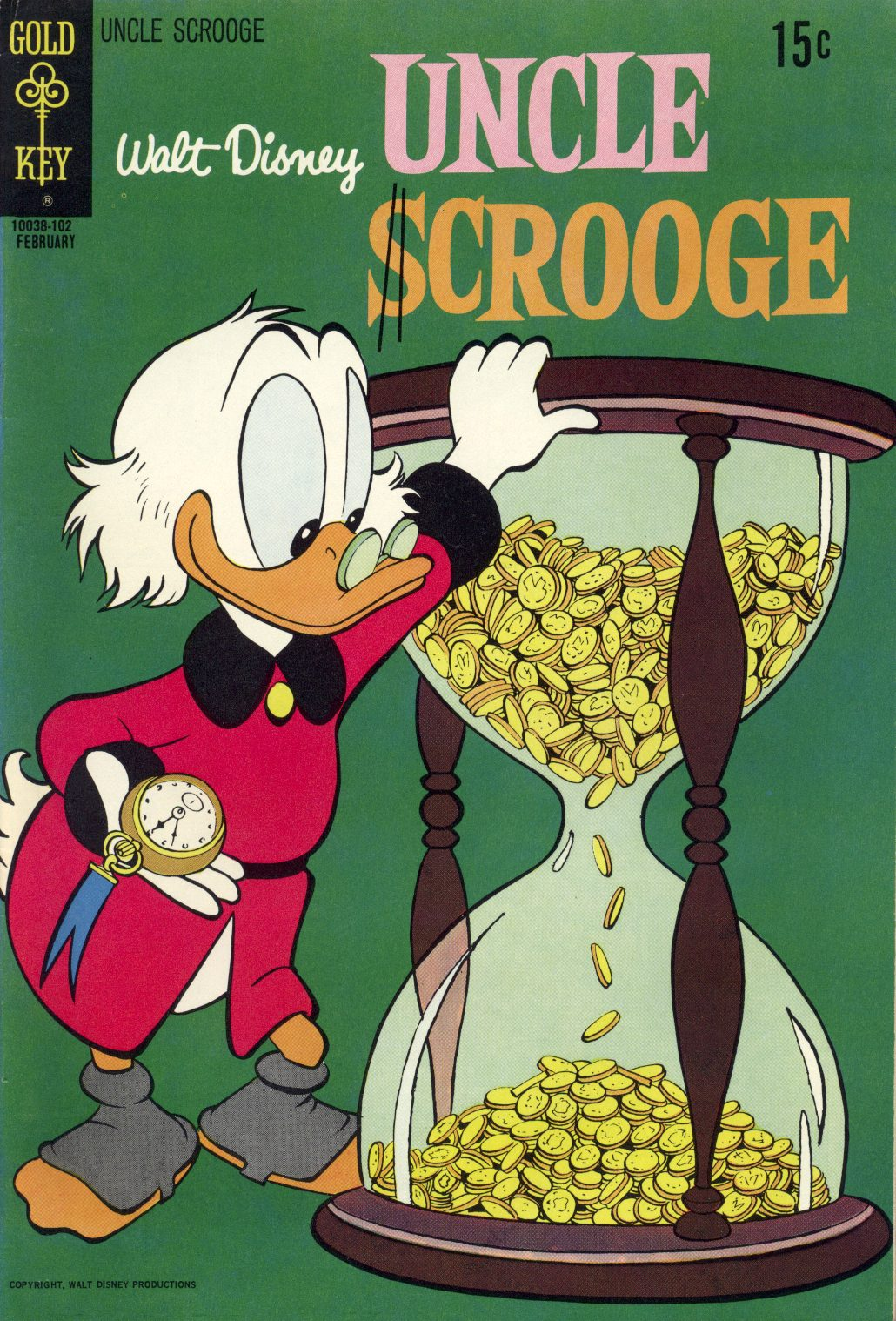 Read online Uncle Scrooge (1953) comic -  Issue #91 - 1
