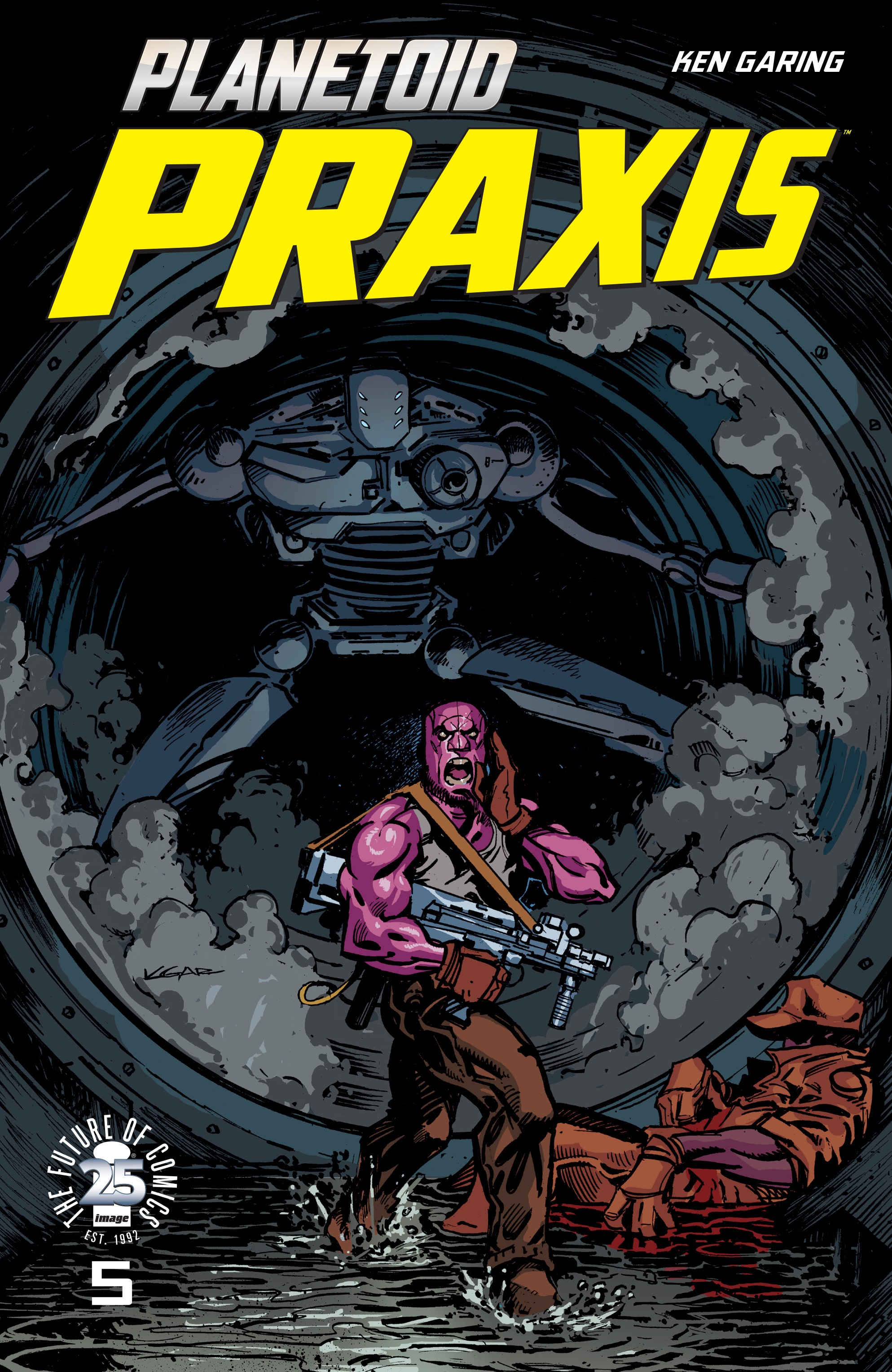 Read online Planetoid Praxis comic -  Issue #5 - 1