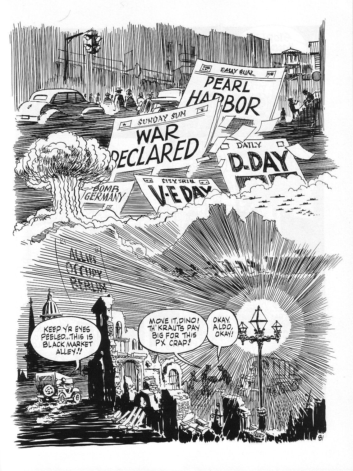 Read online Dropsie Avenue, The Neighborhood comic -  Issue # Full - 83