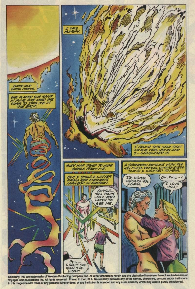 Read online Solar, Man of the Atom comic -  Issue #21 - 4