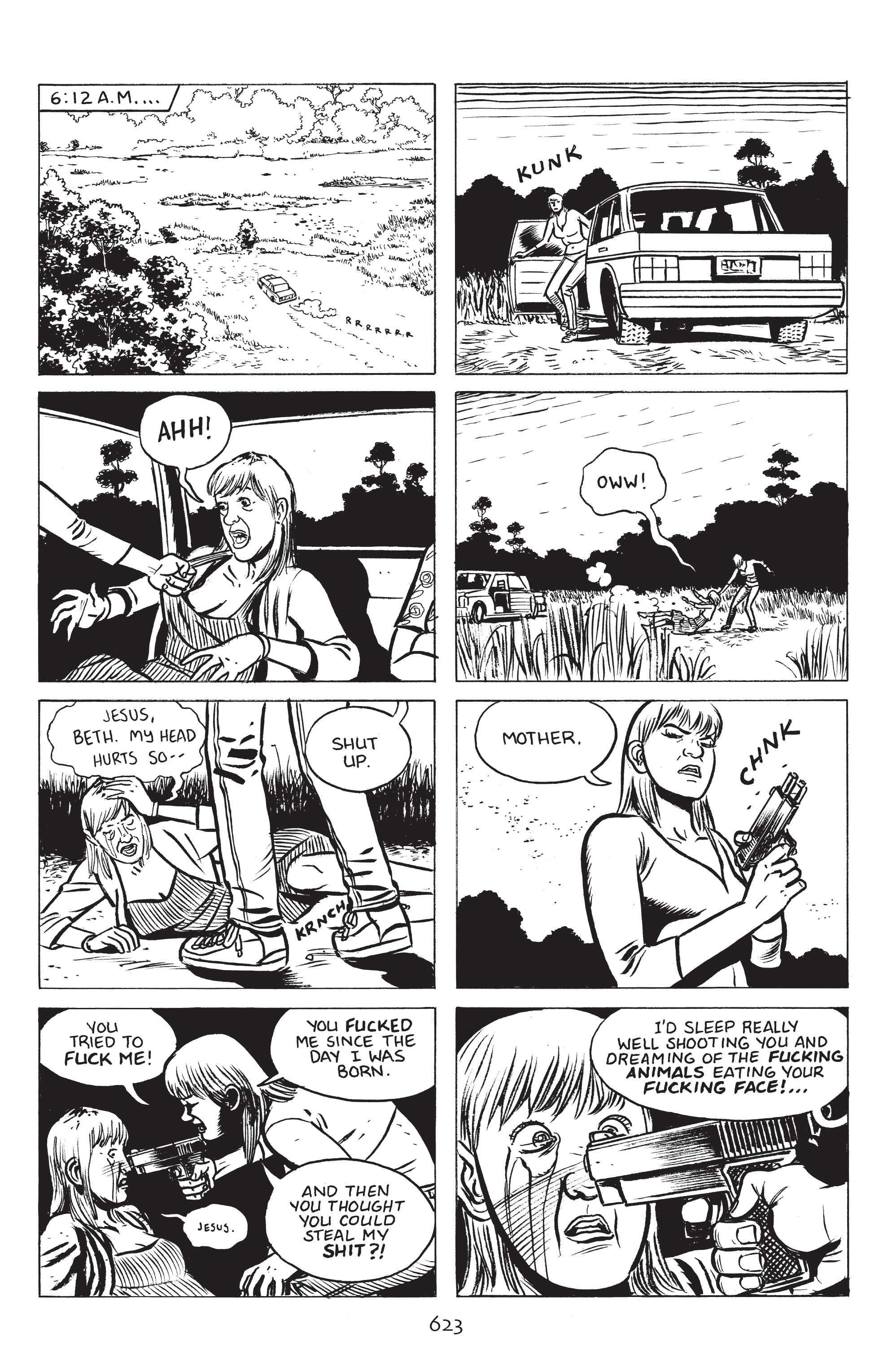 Read online Stray Bullets: Sunshine & Roses comic -  Issue #23 - 6