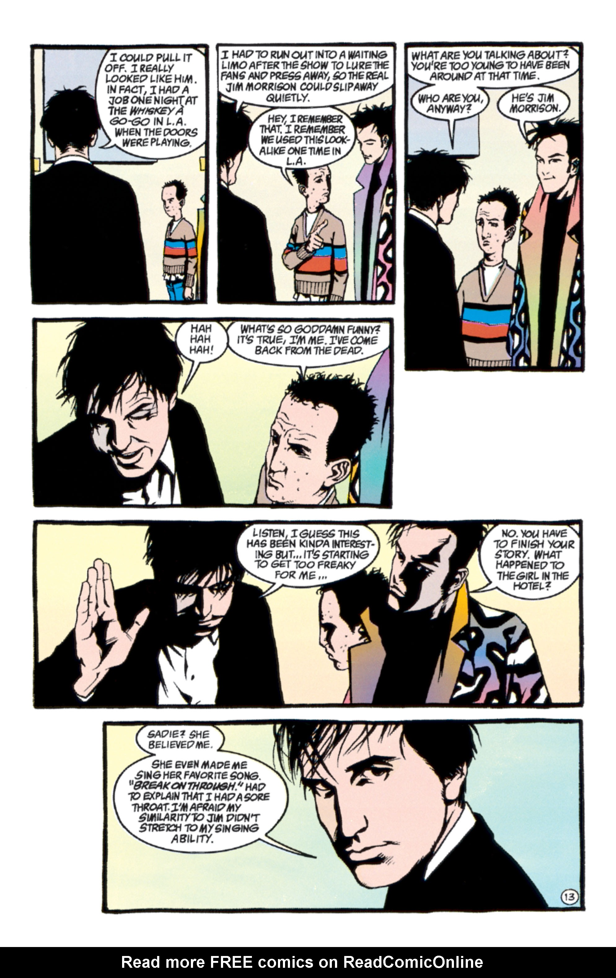 Read online Shade, the Changing Man comic -  Issue #40 - 14