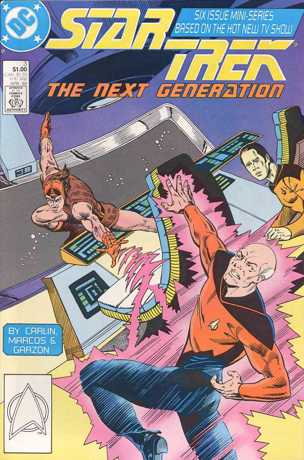 Star Trek: The Next Generation (1988) issue 3 - Page 1
