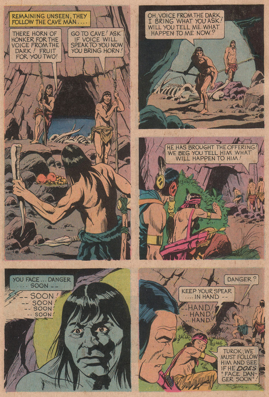 Read online Turok, Son of Stone comic -  Issue #91 - 6