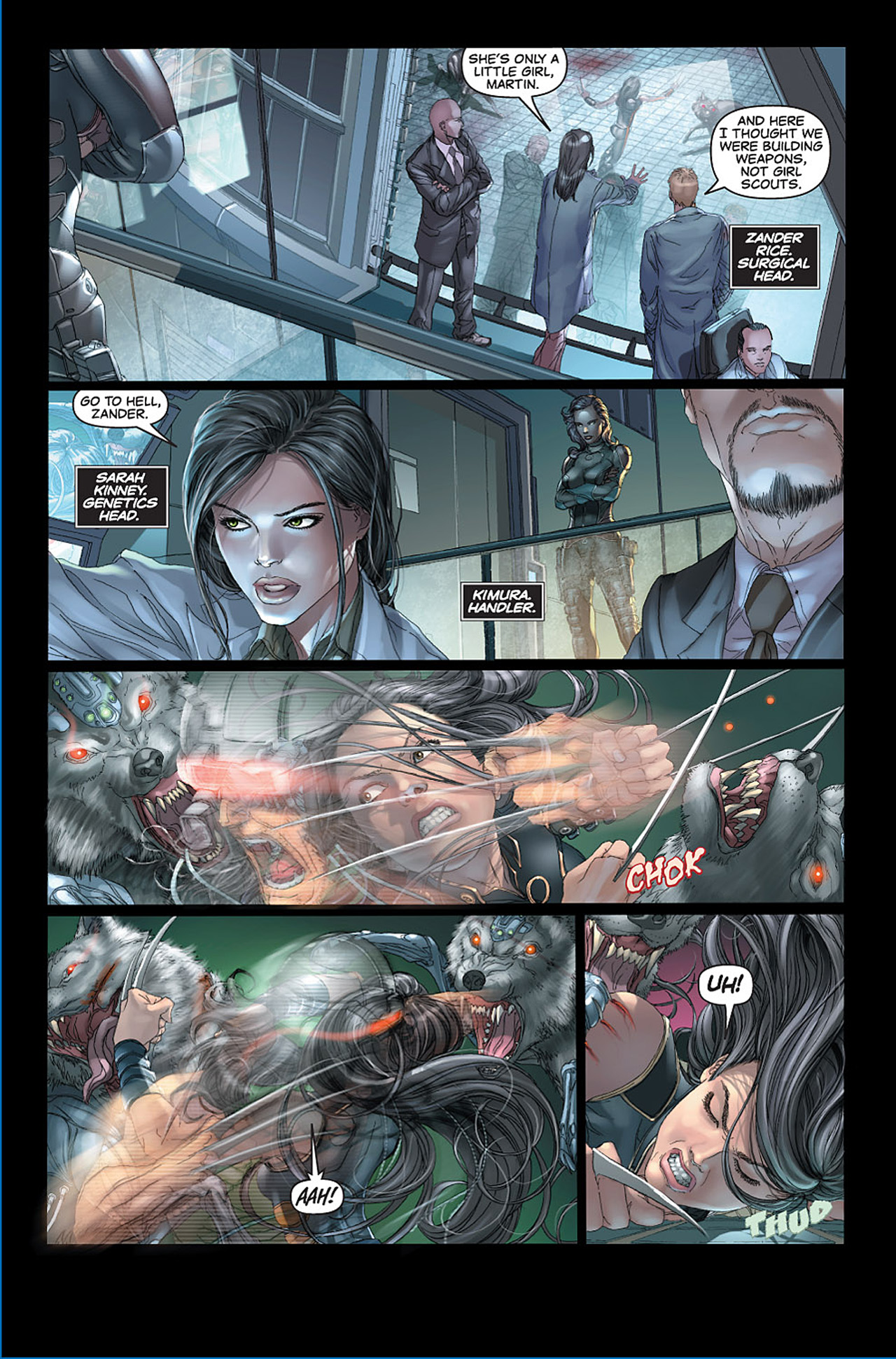 Read online X-23: Target X comic -  Issue #1 - 5