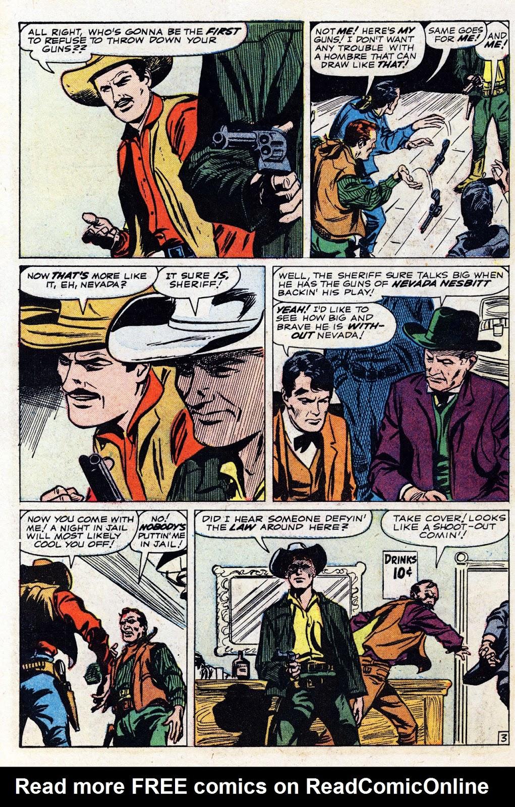 Gunsmoke Western issue 76 - Page 30