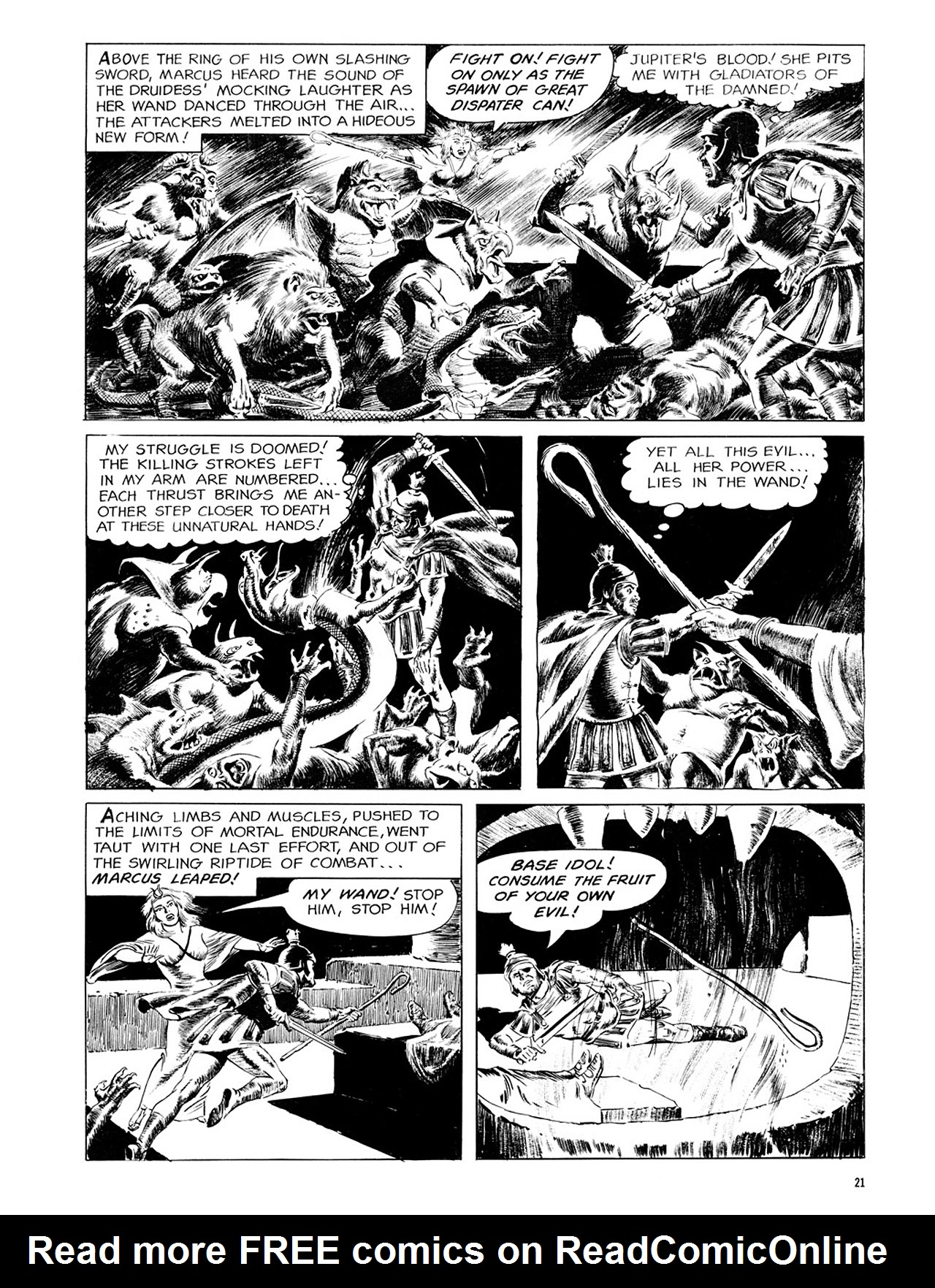 Read online Eerie Archives comic -  Issue # TPB 2 - 22