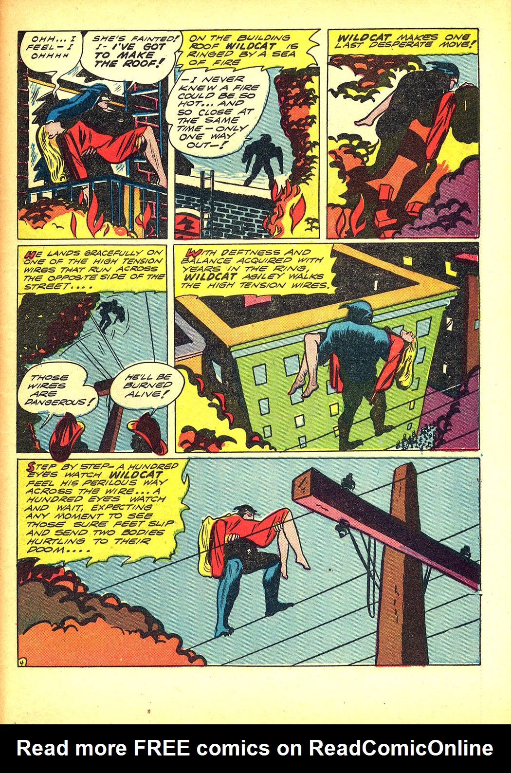 Read online Sensation (Mystery) Comics comic -  Issue #8 - 59