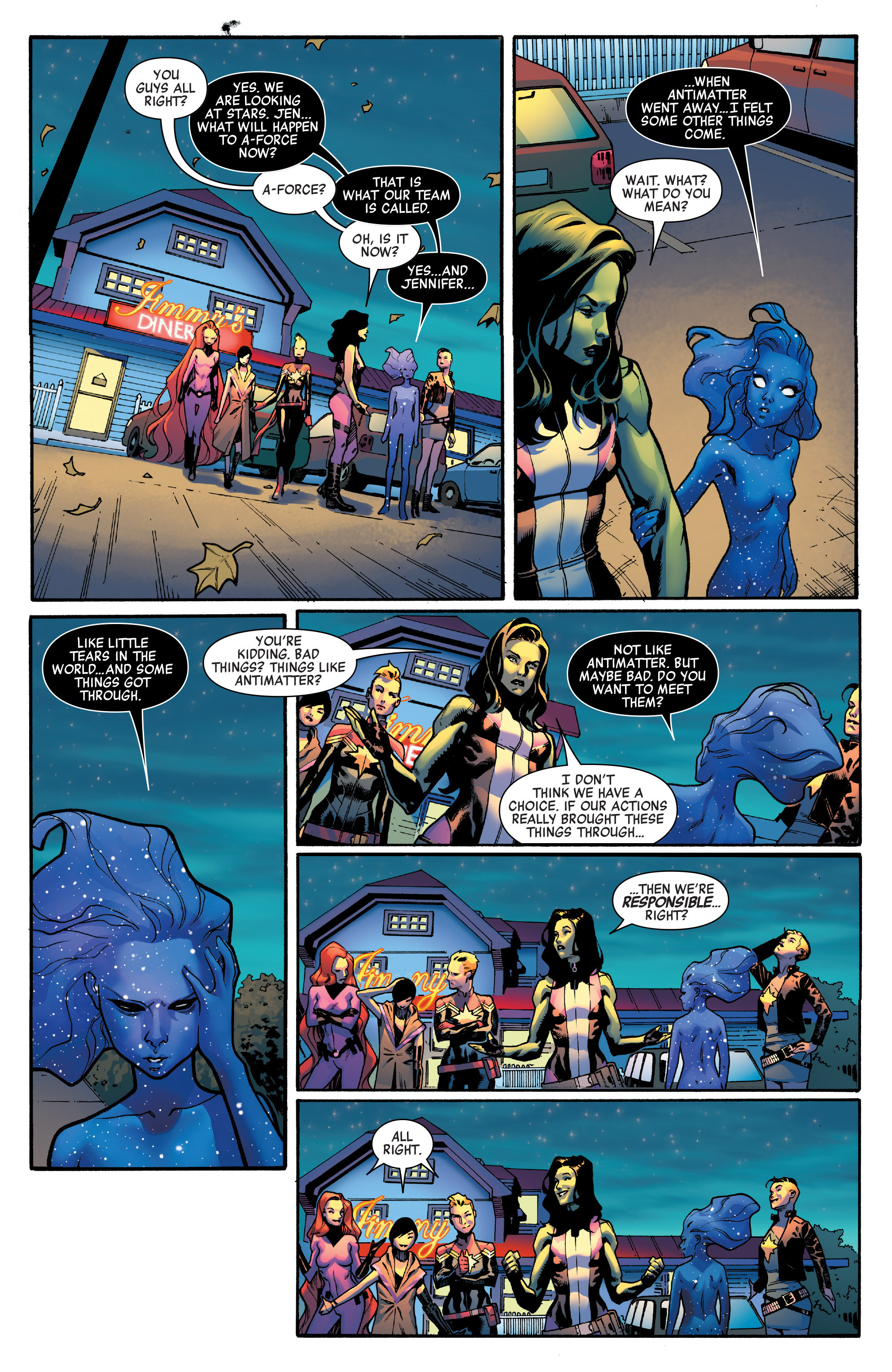 Read online A-Force (2016) comic -  Issue #4 - 17