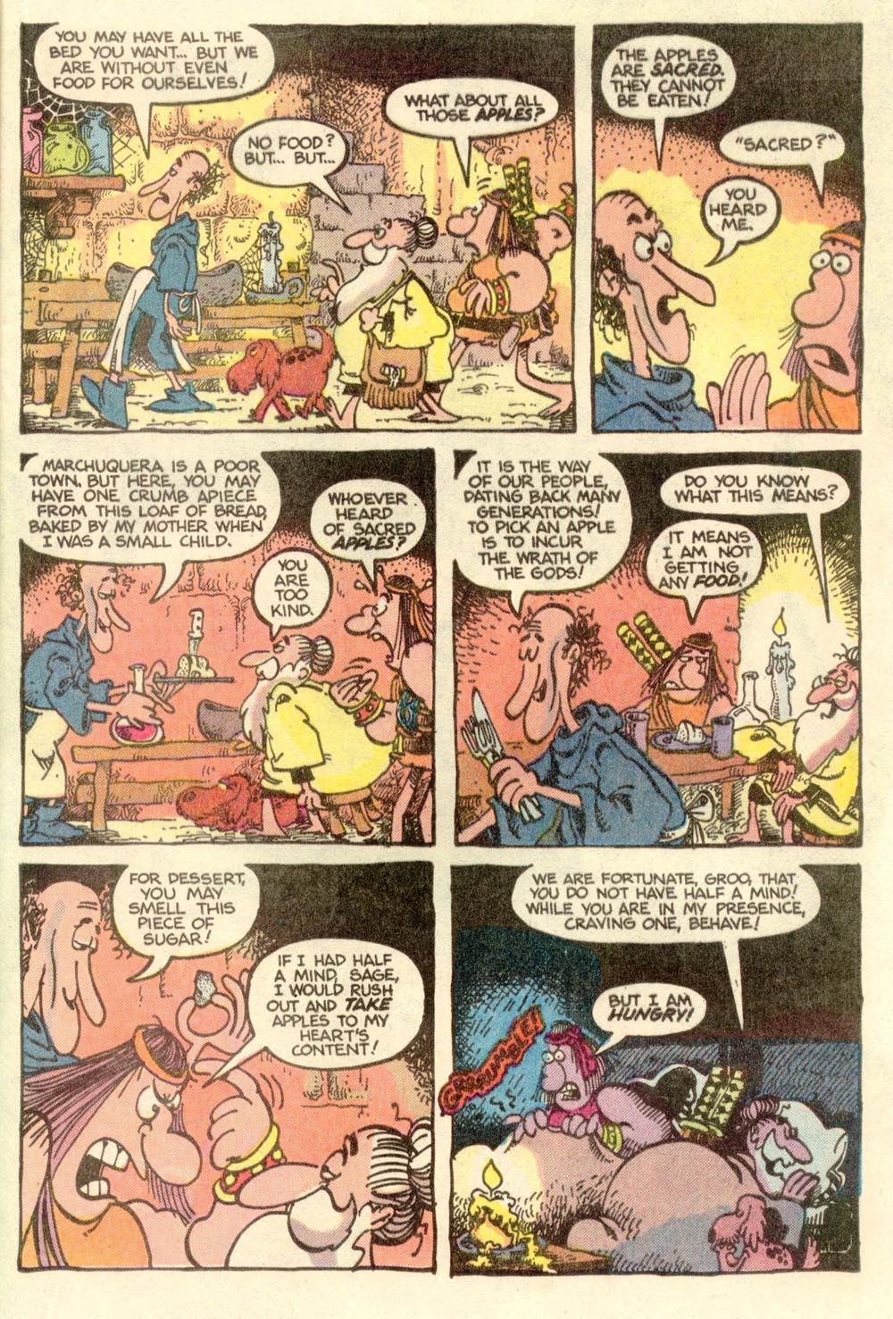 Read online Sergio Aragonés Groo the Wanderer comic -  Issue #9 - 8
