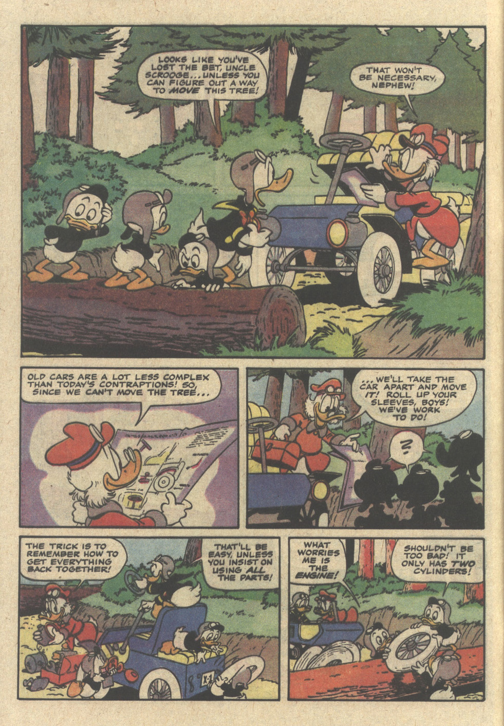 Read online Uncle Scrooge (1953) comic -  Issue #239 - 8