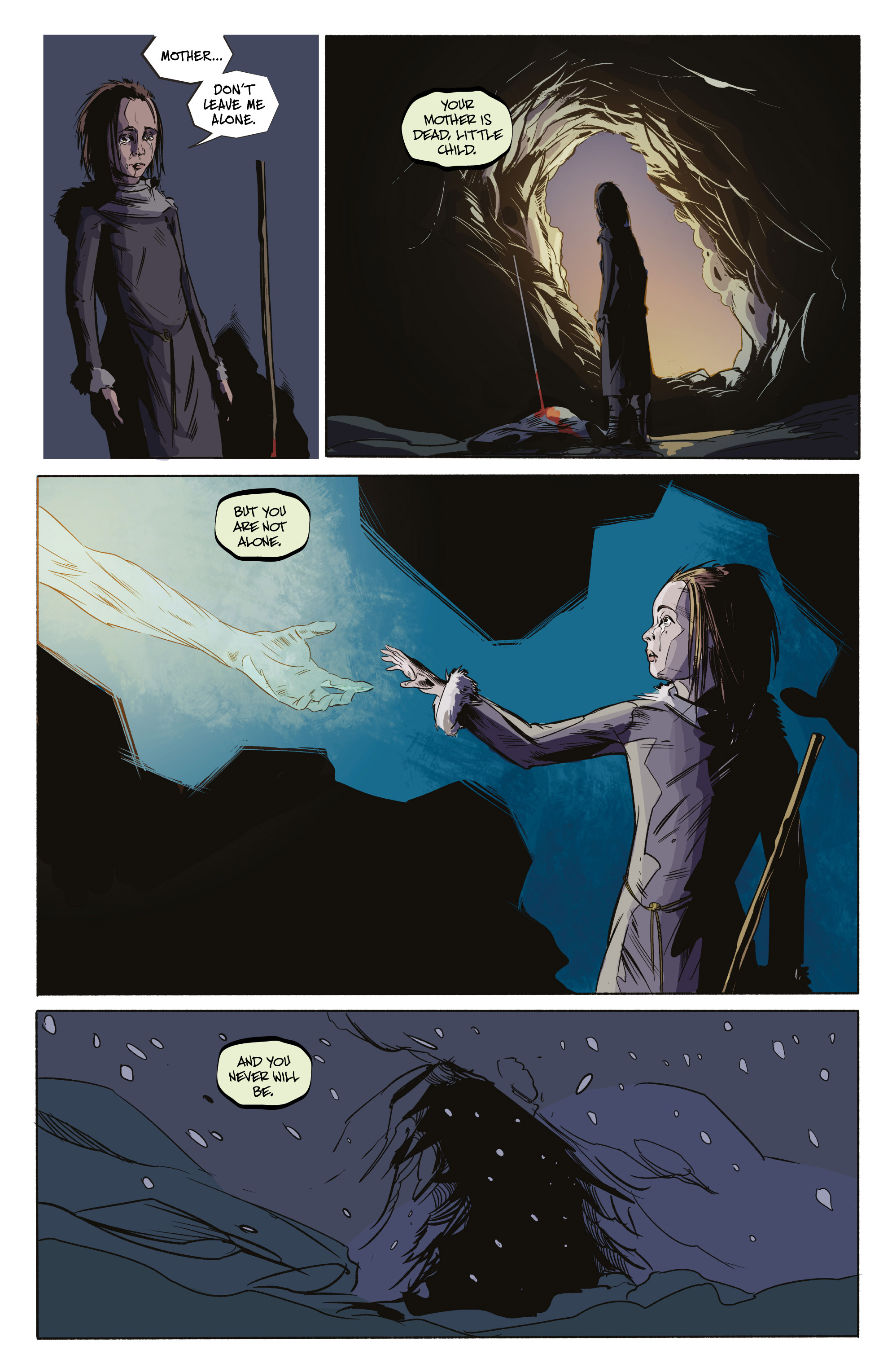 Read online Ghost Wolf comic -  Issue #4 - 4