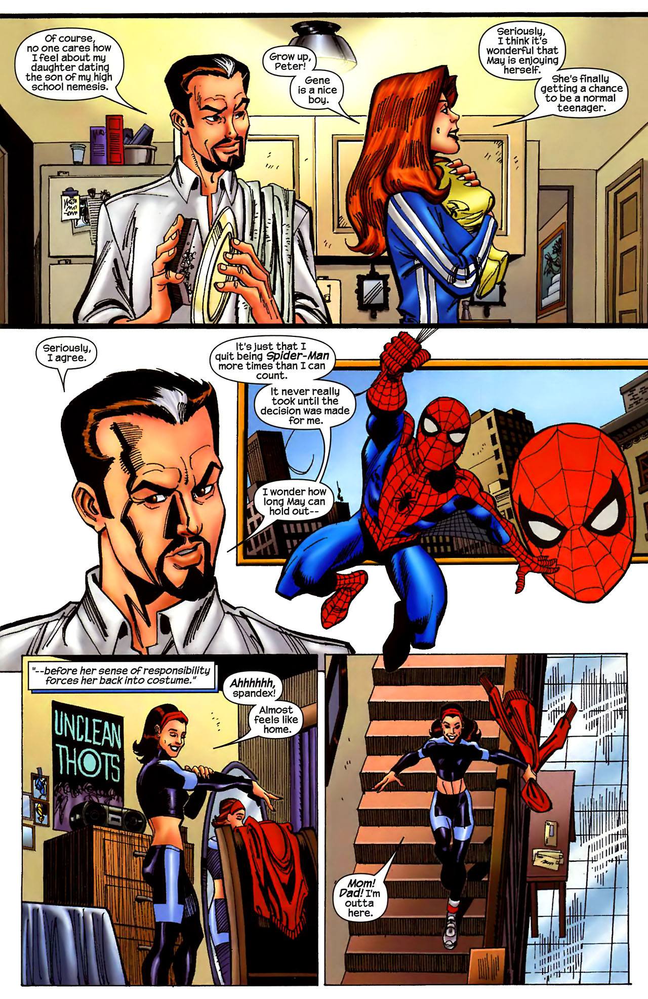 Read online Amazing Spider-Girl comic -  Issue #1 - 13