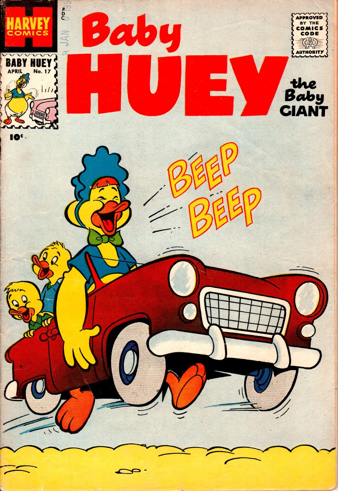 Baby Huey, the Baby Giant 17 Page 1