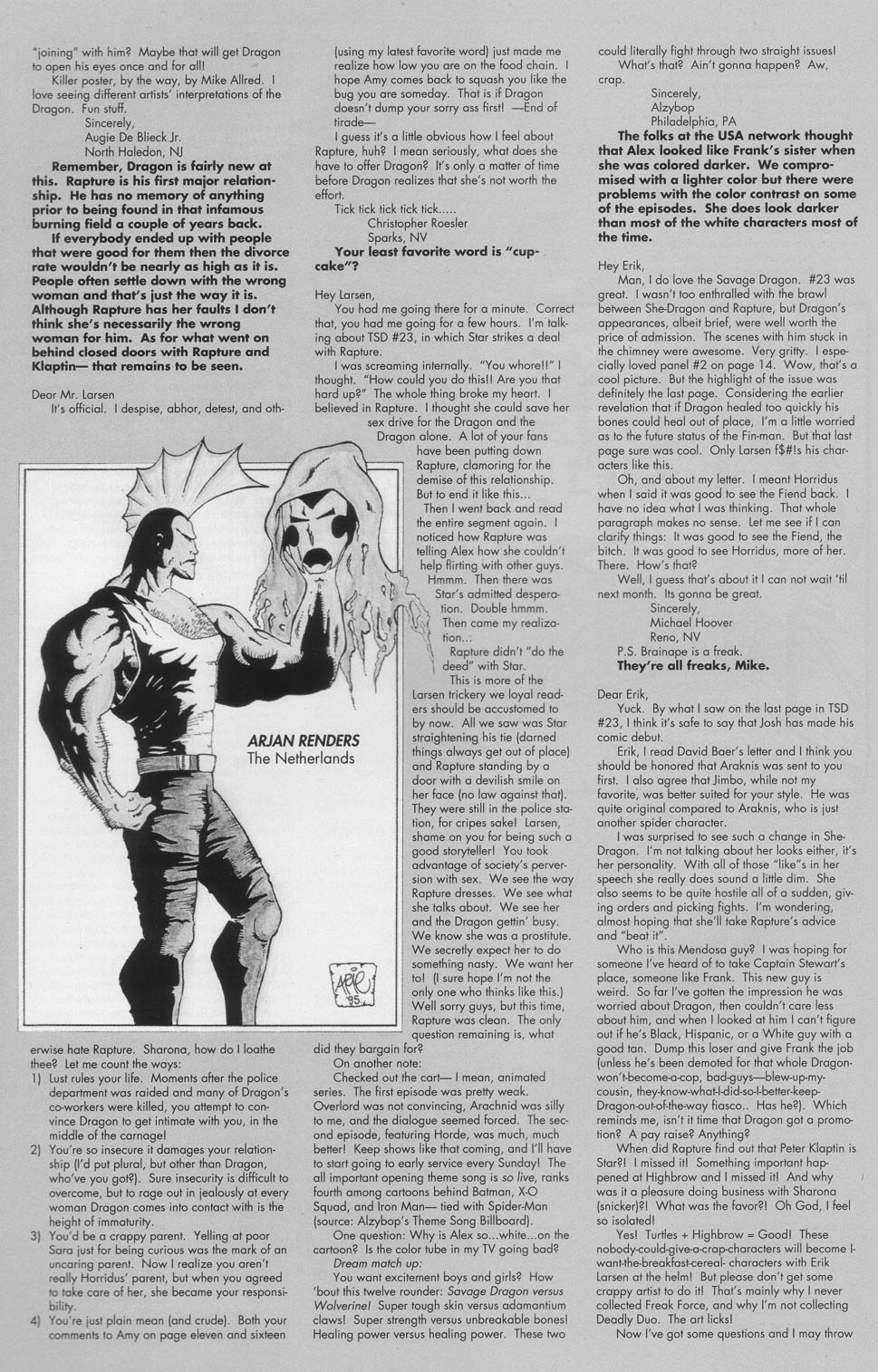 The Savage Dragon (1993) Issue #24 #27 - English 29