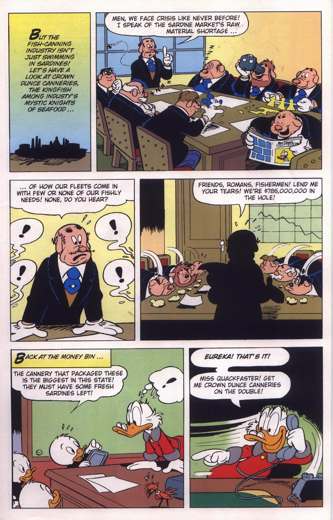 Read online Uncle Scrooge (1953) comic -  Issue #315 - 19