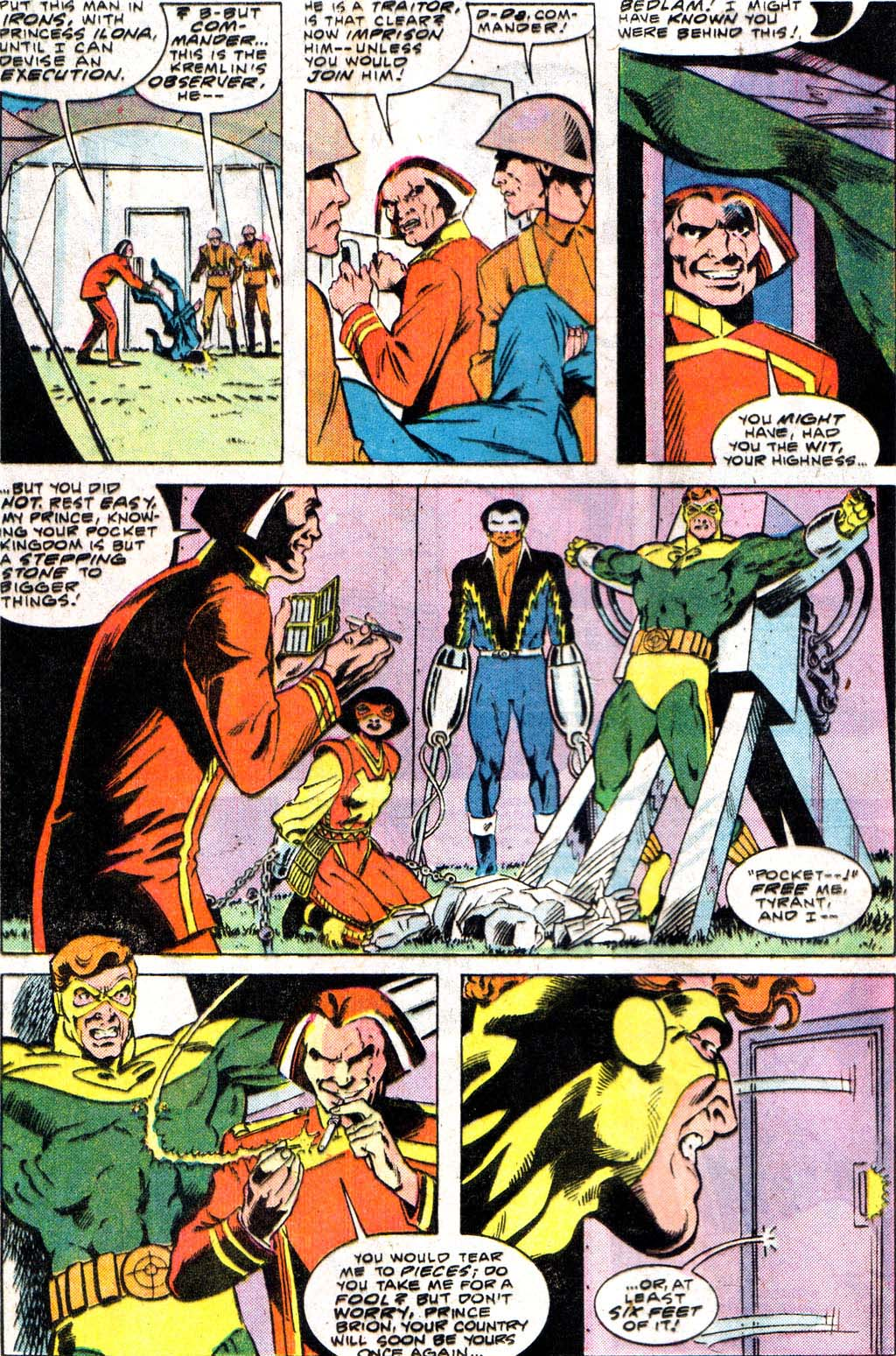 Read online Adventures of the Outsiders comic -  Issue #34 - 10
