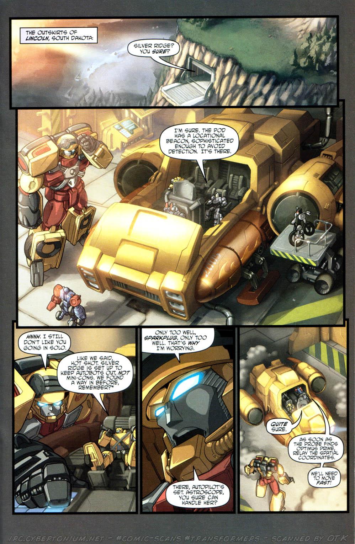 Read online Transformers Armada comic -  Issue #15 - 12