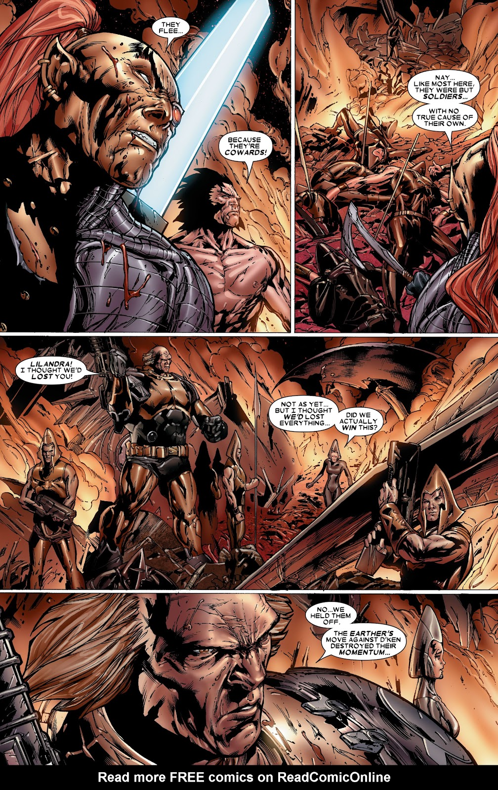 Uncanny X-Men (1963) issue 486 - Page 18